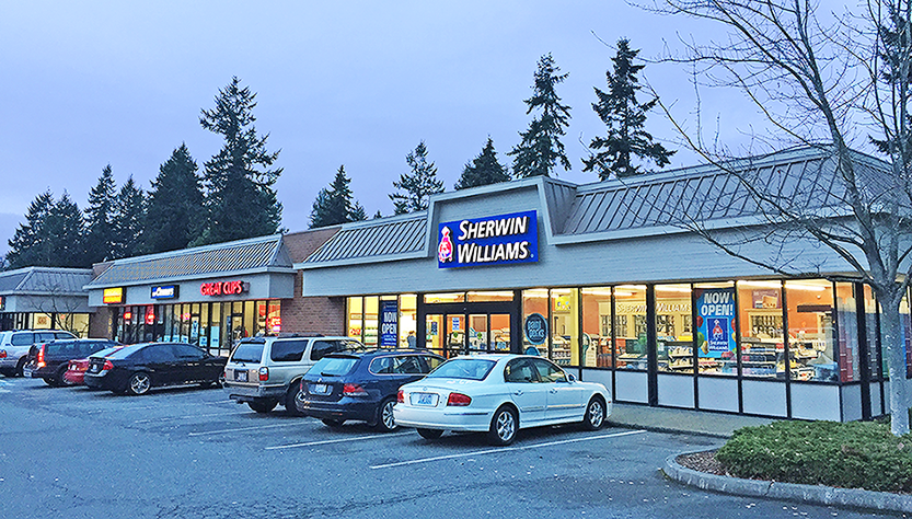 Now 100% Leased Retail Strip in Edmonds